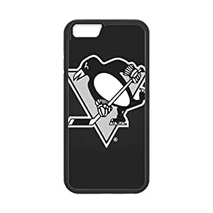 iphone6 4.7 inch case(TPU), nhl penguins Cell phone case Black for iphone6 4.7 inch - HHKL3332903