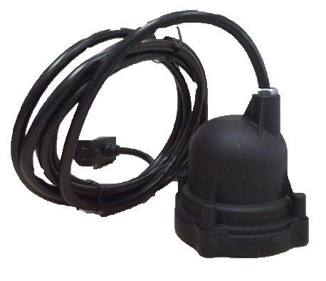 HYDROMATIC 51752-403-7 DPS81 10-01 DIAPHRAGM PIGGYBACK SWITCH W/10' CORD FOR SEWAGE PUMPS by Hydromatic