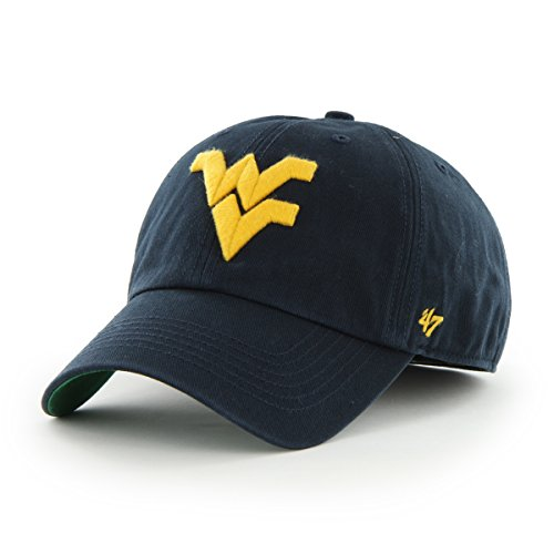 f8ea2b89777ea Galleon -  47 NCAA West Virginia Mountaineers Franchise Fitted Hat ...