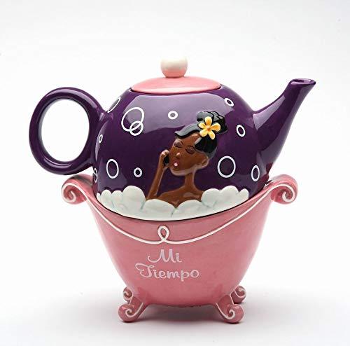 Fine Ceramic Pink Bubble Bath