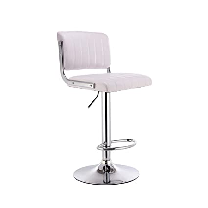 Nice Bar Stools Bar Chair Rotating Lift Backrest Chair High Stools Home Creative Beauty Round Stool Stylish Minimalist Swivel Chair Bar Chairs Bar Furniture