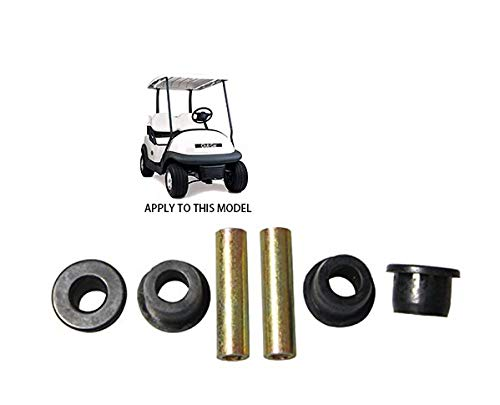 Front Leaf Spring for Club Car Precedent Golf Cart,Bushing and Sleeve Kit 102956201 102288101 ()