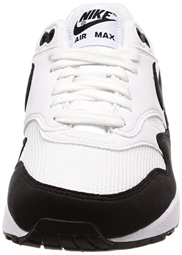 Nike Donna Black Air 1 Max Wmns Running 109 Scarpe White Bianco rzYqrx