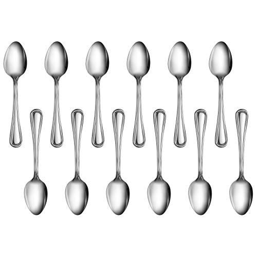 New Star Foodservice 58147 Slimline Pattern, Stainless Steel, Teaspoon, 6-Inch, Set of 12