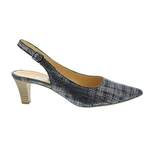 Gabor 61.550.36 - Sandalias de vestir de Piel para mujer Pantalon De Mezclilla (Jeans)