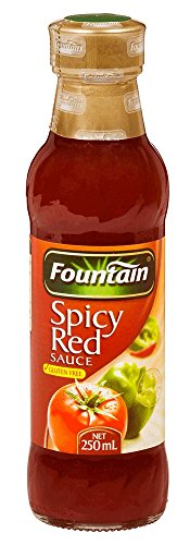 Fountain Spicy Red Sauce 250ml bottle