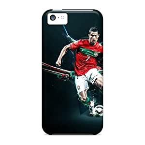 Durable Case For The Iphone 5c- Eco-friendly Retail Packaging(the Best Forward Player Of Real Madrid Cristiano Ronaldo)