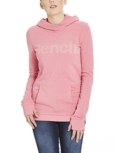 Bench Corp Print Hoody, Capucha para Mujer Rosa (Chateau Rose Pk052)