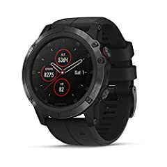 """1. 2"""" Color Display with Sapphire Lens Wrist-Based Heart Rate Monitor Activity and Multi-Sport Tracking Full-Color U. S. TOPO Mapping Bluetooth, ANT+, Wi-Fi GPS/GLONASS Water-Resistant to 10 ATM Up to 12-Day Battery Life Garmin Connect IQ Sof..."""
