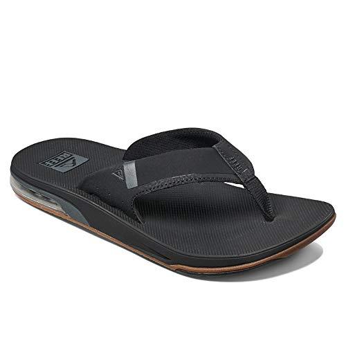 Reef Fanning Low Mens Sandal Black 11 ()
