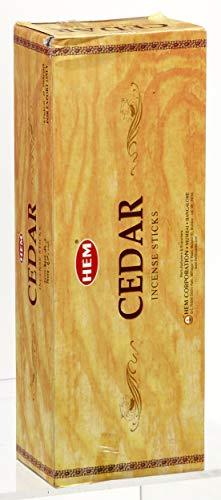 HEM INCENSE Hem Cedar Incense, 3 Boxes - (360 Sticks per order) Bulk order