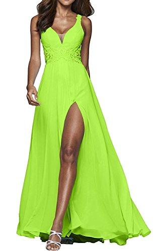 Kleider V Sexy Lemon Abendkleider Gruen Brautmutterkleider Jugendweihe Tief Blau Abschlussballkleider Ausschnitt La Marie Braut AwXqnvp