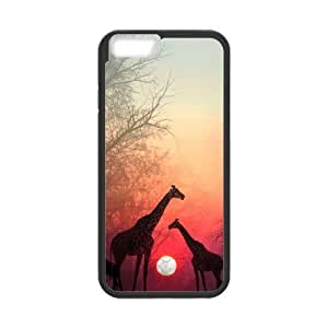 """Chinese Giraffe Personalized Case for iPhone6 4.7"""",custom Chinese Giraffe Phone Case"""