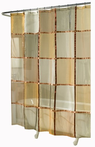 Amazon.com: Ex Cell Home Fashions Mosaic Fabric Shower Curtain, Terracotta:  Home U0026 Kitchen