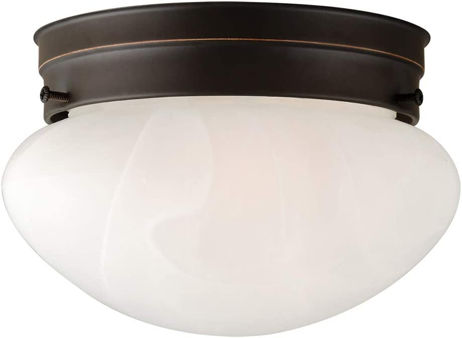 Design House 514547 Millbridge 1 Light Ceiling Light, Oil Rubbed Bronze