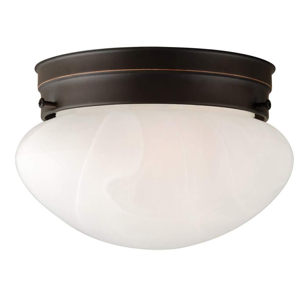 Design House 514547 Millbridge 1 Light Ceiling Light, Oil Rubbed Bronze by Design House