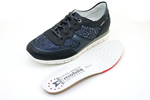Perf Kadia by Sneakers Donna Navy Stringate Mephisto Mobils OHpxwq1t