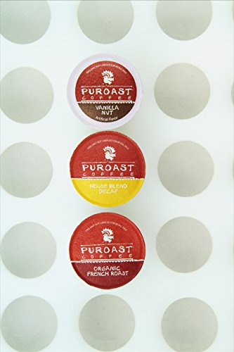 Puroast Low Acid Coffee Mixed Single Serve Keurig Cups, 30 Count