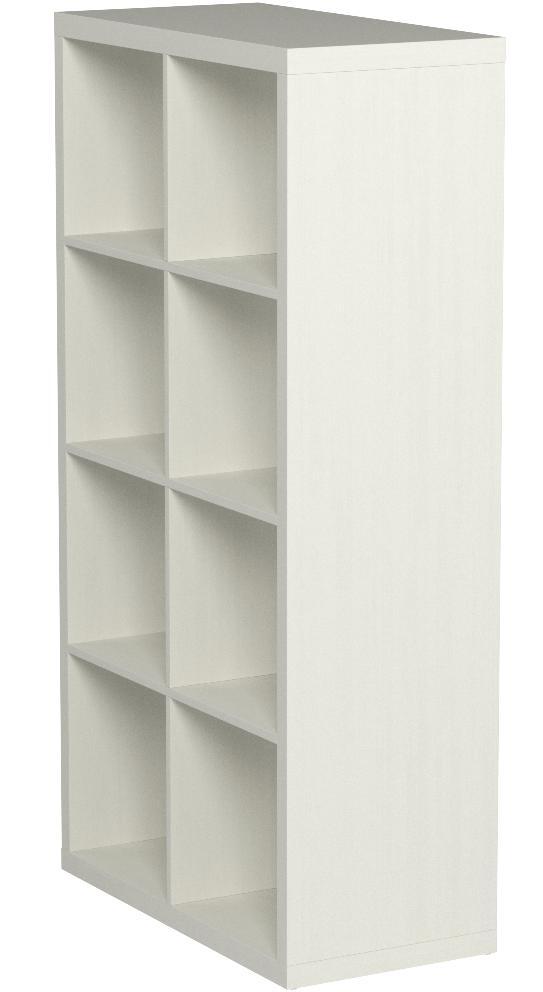 IKEA KALLAX Estantería de almacenamiento para habitación (rectangular, 2 x 4)