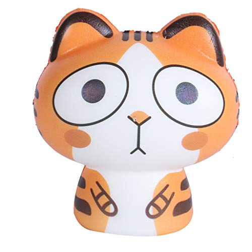 Amazon.com: LtrottedJ 1PCS Squeeze Exquisite Lovely Cat Scented Slow Rising Decompression Toys (Orange): Toys & Games