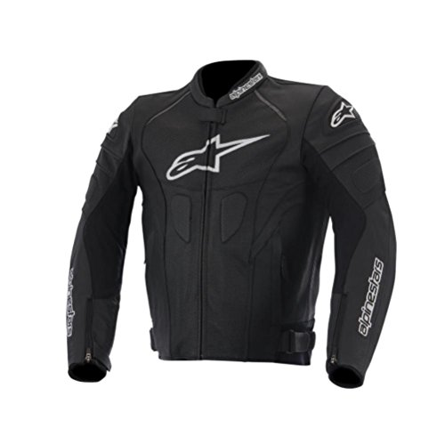 Alpinestars GP Plus R Perforated Men's Street Motorcycle Jackets - Black/White / 56