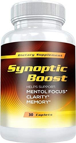 Synoptic Boost – Helps Support Mental Focus, Clarity, Memory and Natural Energy Levels 30 Capsules