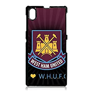 West Ham United Football Club Fans Cell Phone Case Cool Design for Sony Xperia Z1