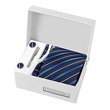 NUOCAI - Corbata de Negocios clásica, cómoda Corbata de poliéster ...