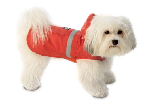 PetRageous Seattle Slicker for Pets, XX-Large, Red