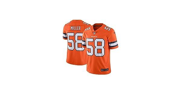 266006fd2 Amazon.com   NIKE Von Miller Denver Broncos Color Rush Orange Vapor  Untouchable Limited Jersey - Men s XL (X-Large)   Sports   Outdoors