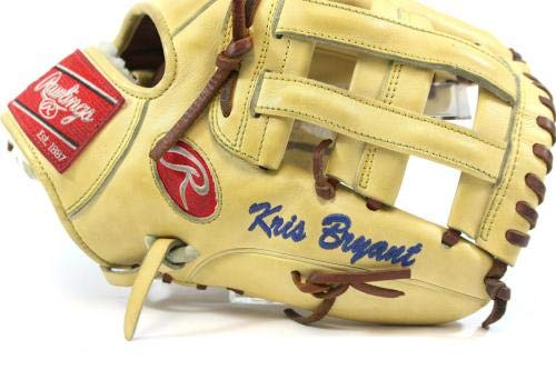 Kris Bryant Chicago Cubs Game Used Fielding Glove Issued In 2015 2016 Loa PSA/DNA Certified MLB Game Used Gloves