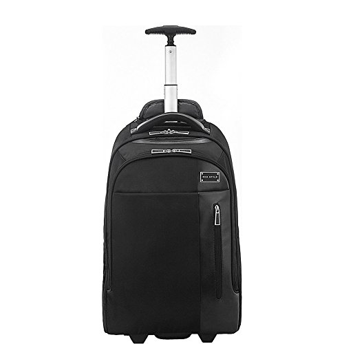 ECO STYLE Tech Exec Laptop Rolling Backpack Black