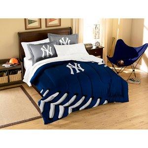 MLB New York Yankees Twin/Full Size Comforter with Sham Set