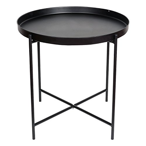 Indoor Multi-function Accent table Study Computer Desk Bedroom Living Room Modern Style End Table Sofa Side Table Coffee Table Folding Tray Side Table by DASII