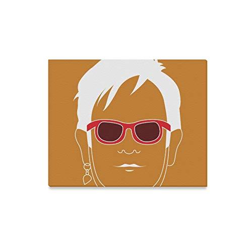 Print Art POSTER CANVAS Elton John
