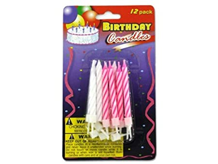 Wholesale Birthday Candles With Plastic Stands