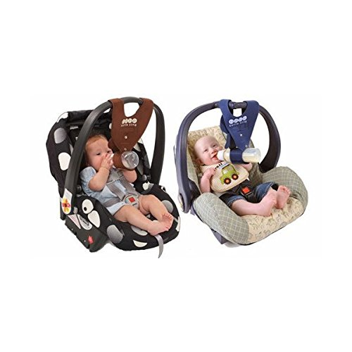 Puppy and Monkey Boy Twins Baby Bottle Holders