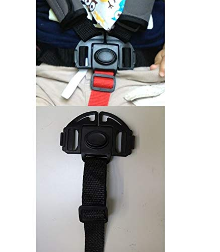Stroller and Car Seat Replacement Parts/Accessories to fit BOB Products for Babies, Toddlers, and Children (Harness Buckle w Bottom Strap) from Ponini