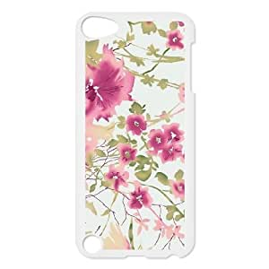 iPod Touch 5 Phone Cases White Vintage Floral Pattern FSG520829