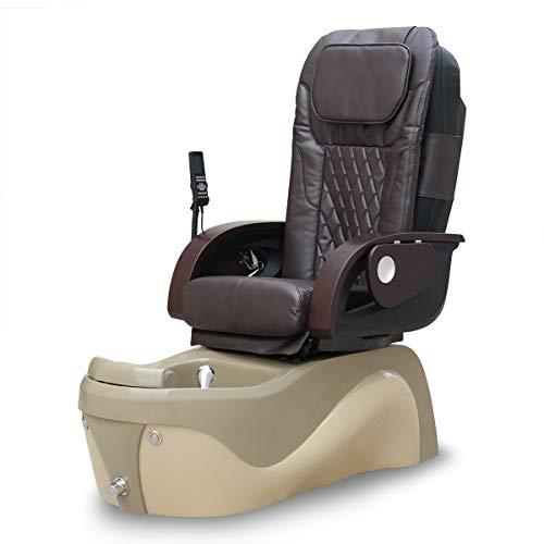 Java Pipeless Spa Pedicure Chair - Magnetic Jet - Robotic Massage (Espresso)