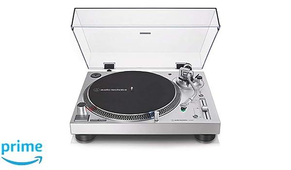 AT-LP 120X USB Silver - Tocadiscos Manual de tracción Directa con ...
