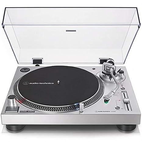 AT-LP 120X USB Silver - Tocadiscos Manual de tracción ...