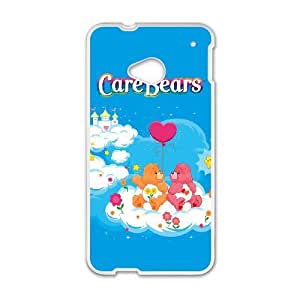 HTC One M7 Phone Case for Classic Theme Care Bears Movie Cartoon pattern design