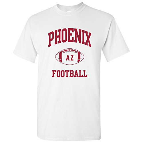 (Phoenix Classic Football Arch Basic Cotton T-Shirt - Small -)