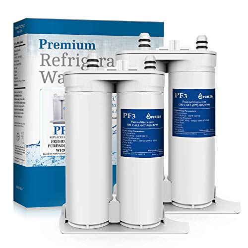 Pureza WF2CB Water Filter - Compatible with Pure Source 2 Water Filter, WF2CB, NGFC2000, FC100, Kenmore 469911, 469916, 2 Pack (Frigidaire Ice Maker Filter)