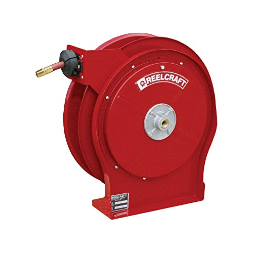 Reelcraft 5650 OLP 3/8-Inch by 50-Feet Spring Driven Hose Reel (Air Water Hose Reel)