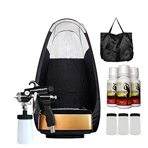 Pro Tanning Systems - MaxiMist Allure Xena Pro Sunless Spray Tanning System w Tent (Black)