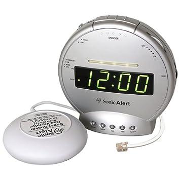 Amazon.com: Reloj despertador con teléfono Sig y VIB: Health ...