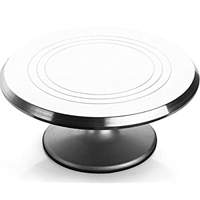 "12"" Large Stainless Steel Rotating Pottery Turntable review"