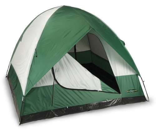 (Stansport Black Granite Series Rainer 2 Pole Dome Tent (9-Feet X 9-Feet X 72-Inch))